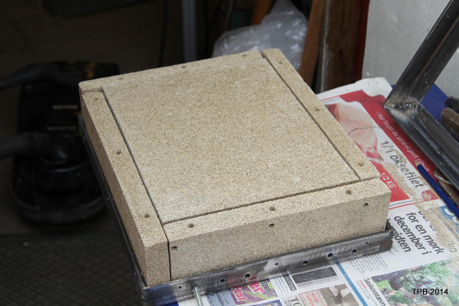 Vermiculite plader